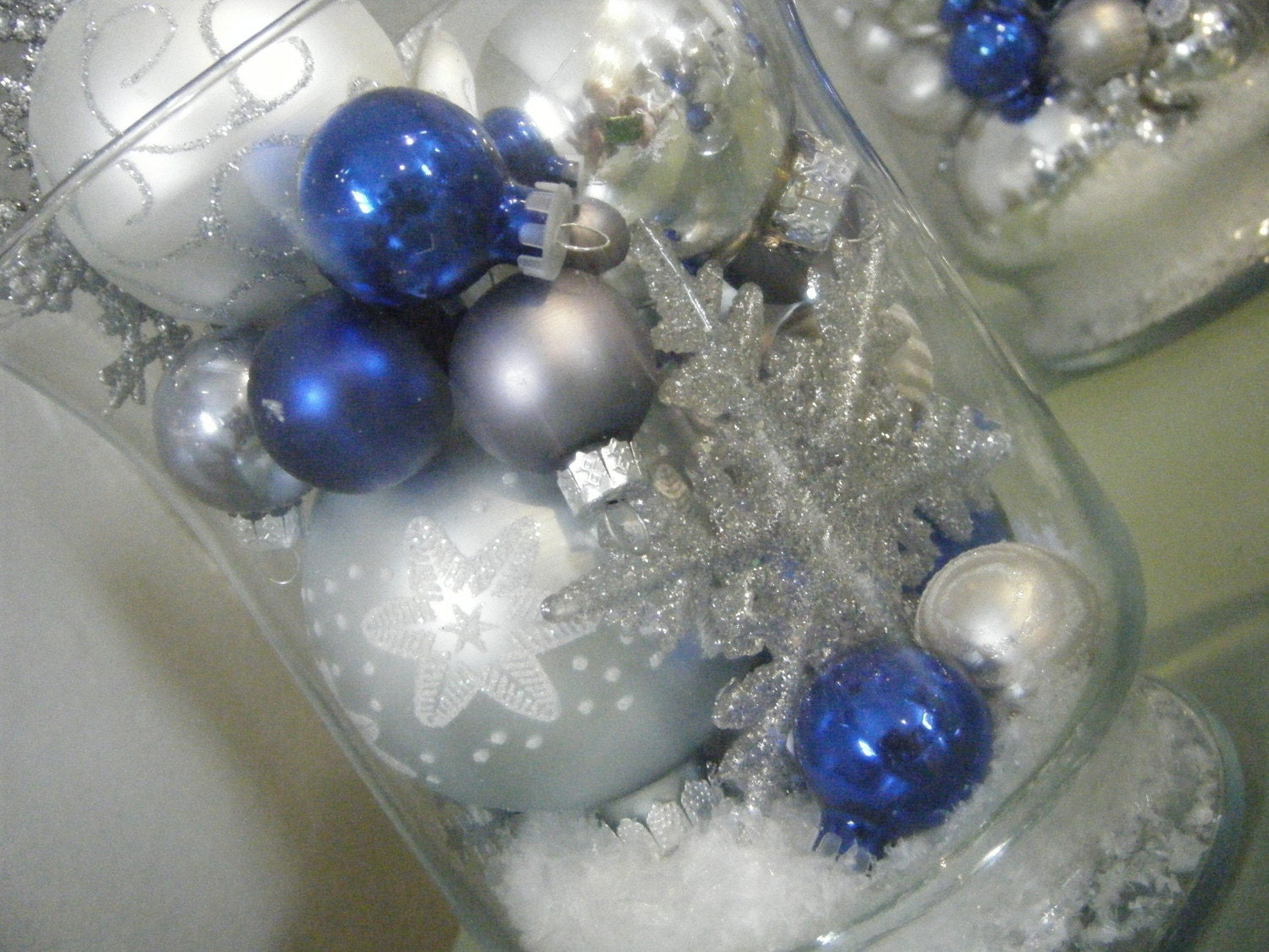 Winter wonderland centerpieces