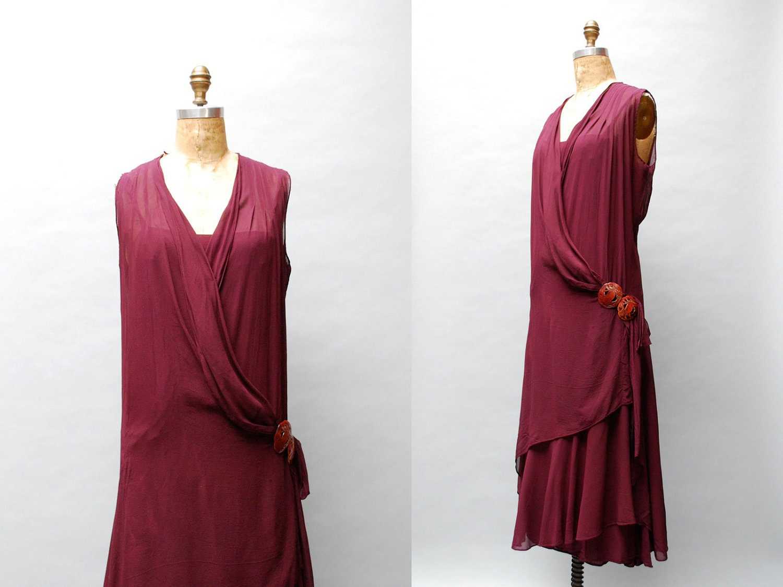 Romantic 1920s Plus Size Dress http://www.etsy.com/listing/113770583 ...