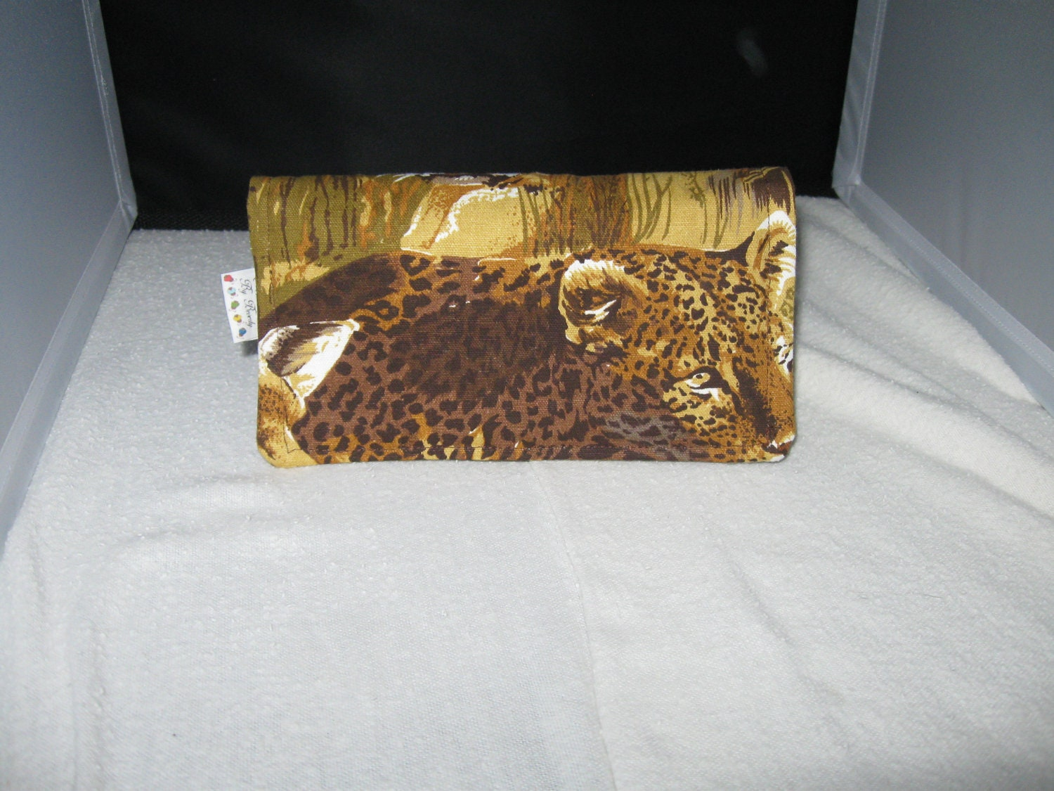 Checkbook Cover Animal Print Fabric Checkbook Cover