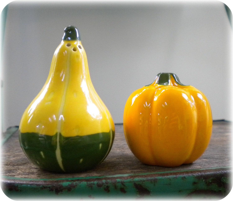 Gourd and Pumpkin Salt and Pepper