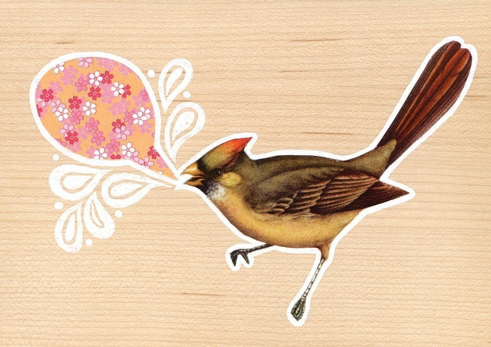 Brown Bird - Limited Edition Print