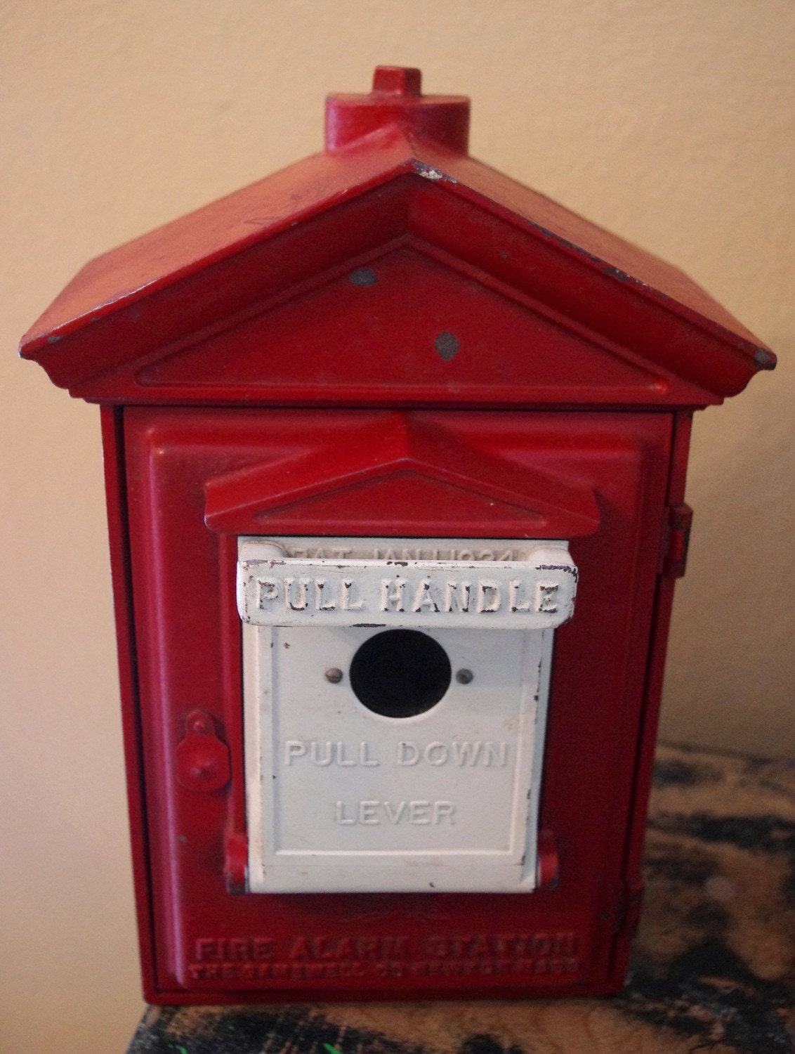Vintage Gamewell Fire Alarm Box By Pickins On Etsy
