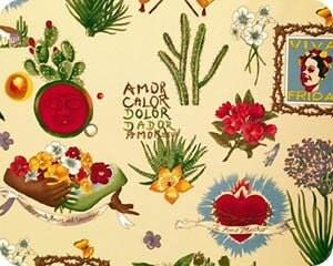 Frida Kahlo fabric