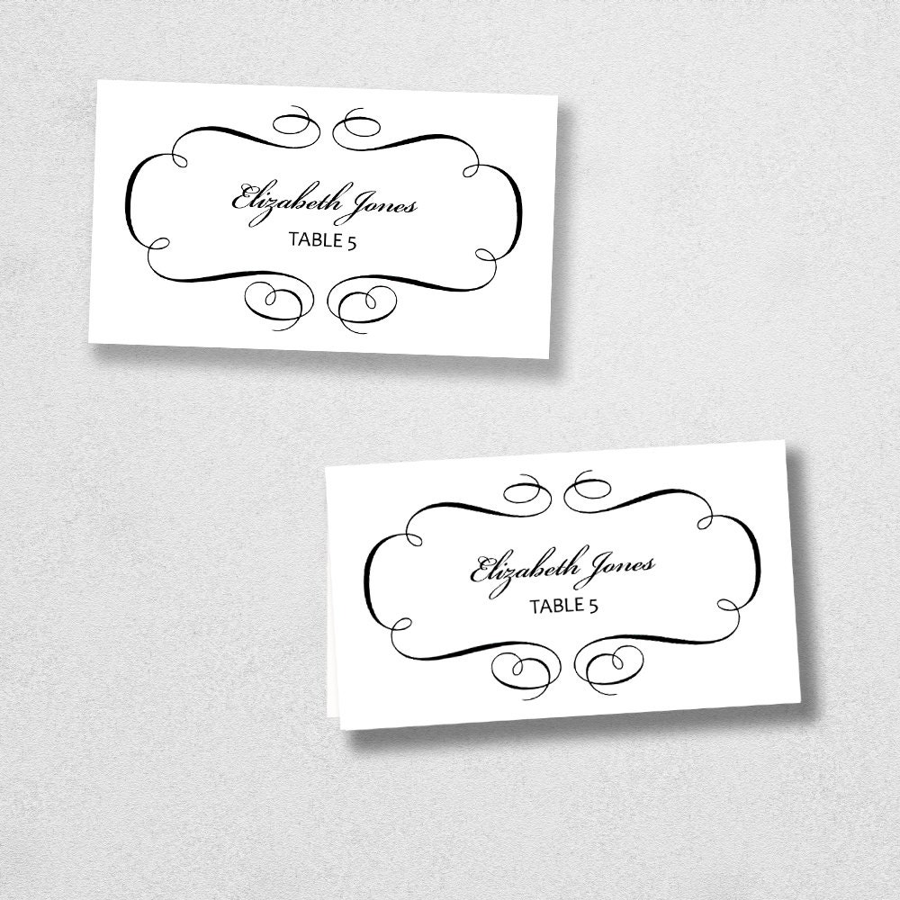 Avery place card template avery place card template instant download escort card for word maxwellsz