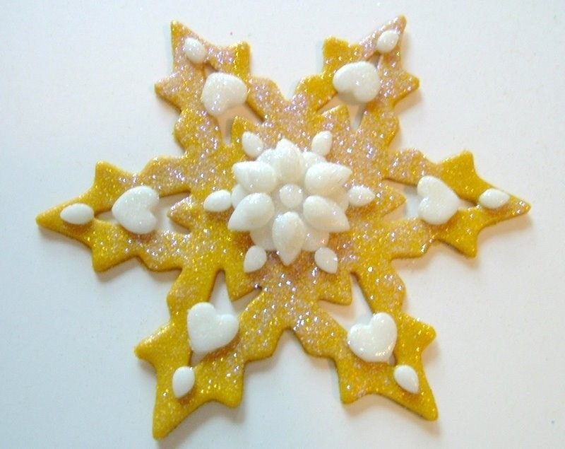 Medium Snowflake Ornament