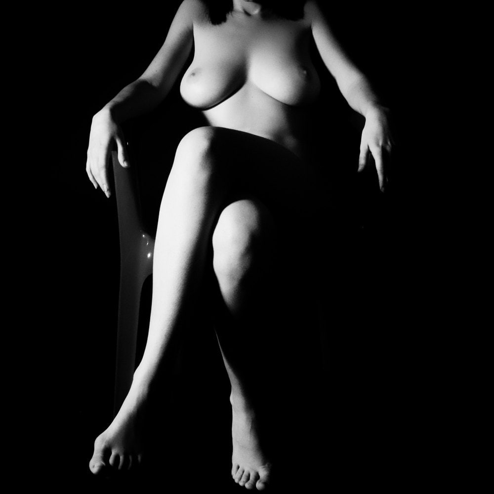 black and white nude women № 40924