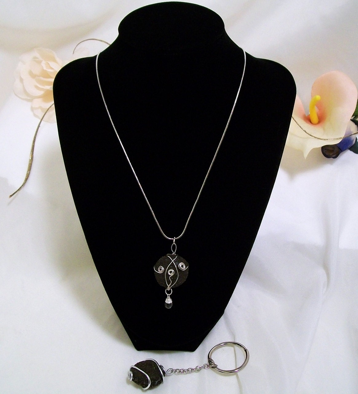 RESERVED Custom Request For Corla - Boji Energy Healing Necklace and Mate