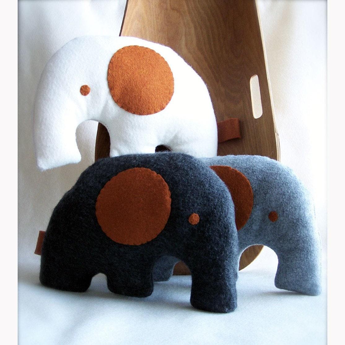 little modern white elephant