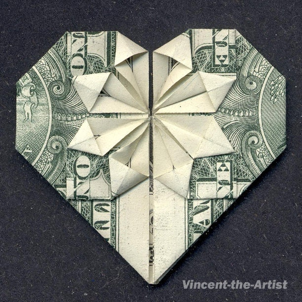 origami heart instructions dollar bill driverlayer
