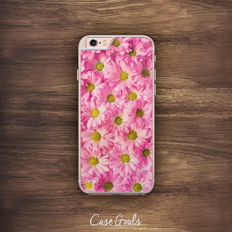 Pink Flower iPhone Floral Pattern iPhone 6 Case iPhone 6S Case iPhone 5S Case iPhone 5 Case iPhone 5C Case iPhone 7 Case iPhone 4 Case