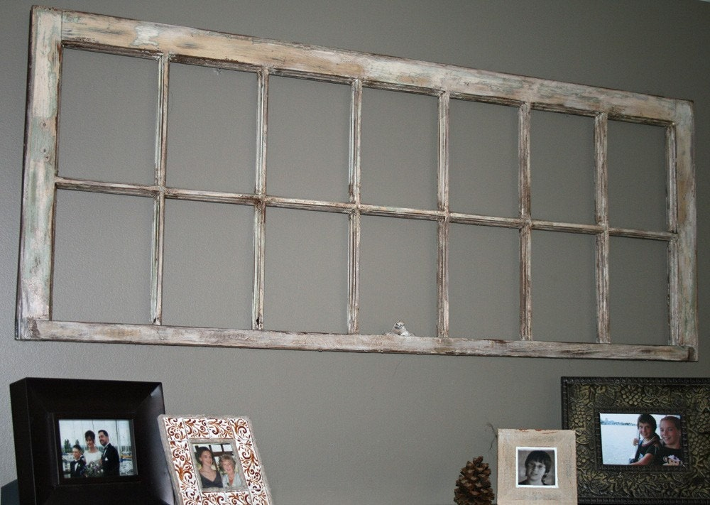 One thing leads to another for Using old windows as picture frames