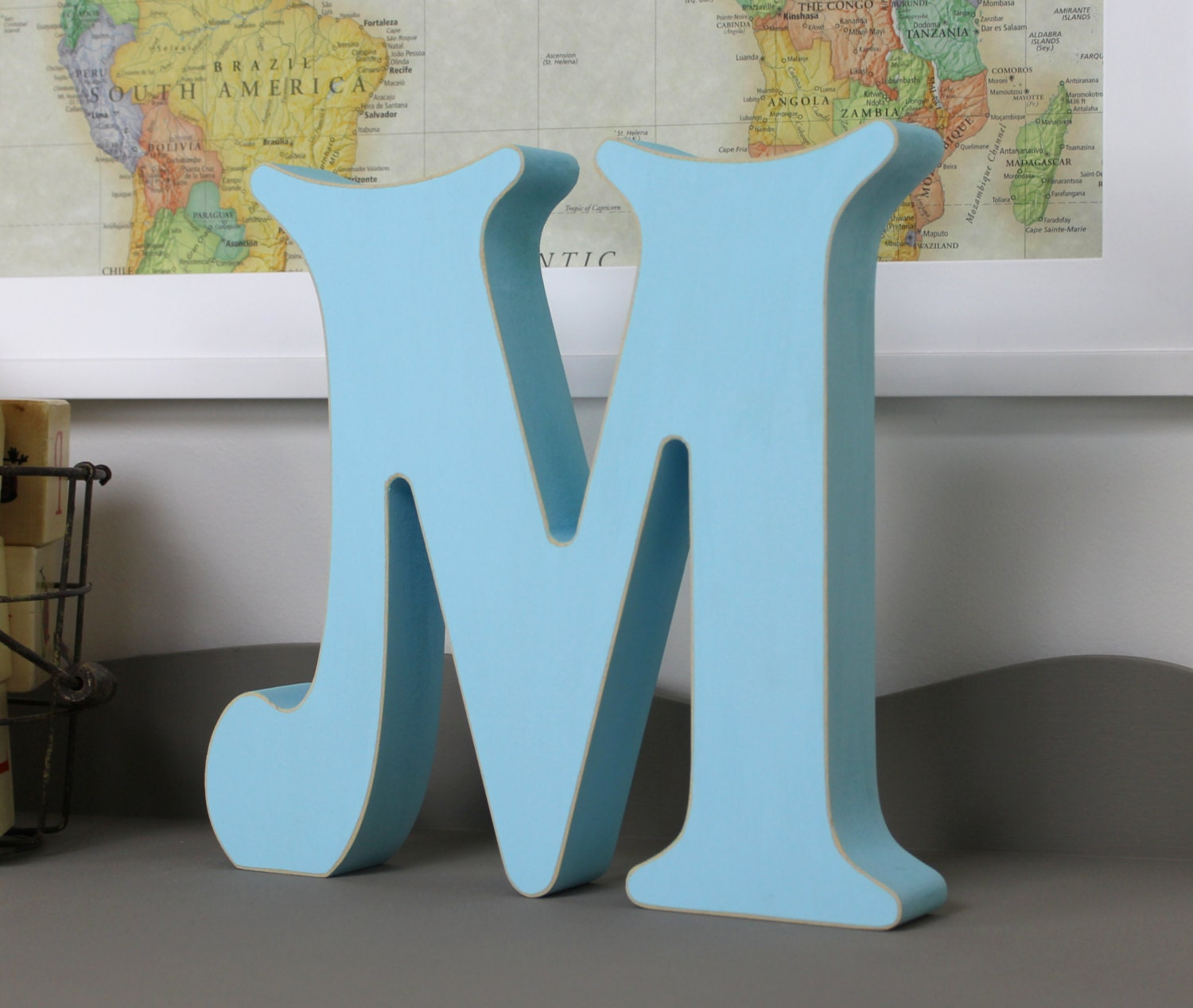 free standing wooden alphabet letters victorian by lightfilled With free standing letters