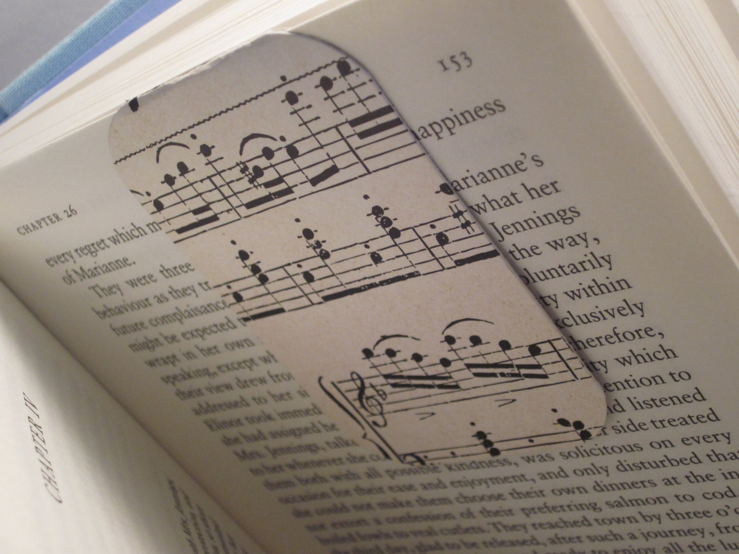 Magnetic Bookmark (Musically Inclined)