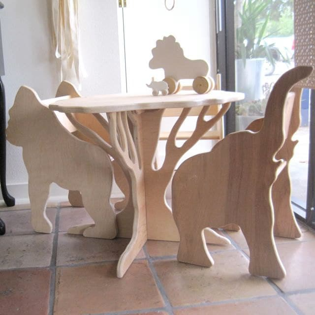 Детская мебель из фанеры своими руками 76