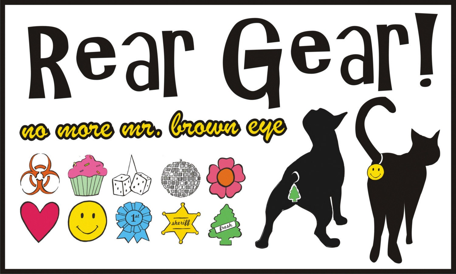 Rear Gear.  Butt Covers for your Cat and Dog...