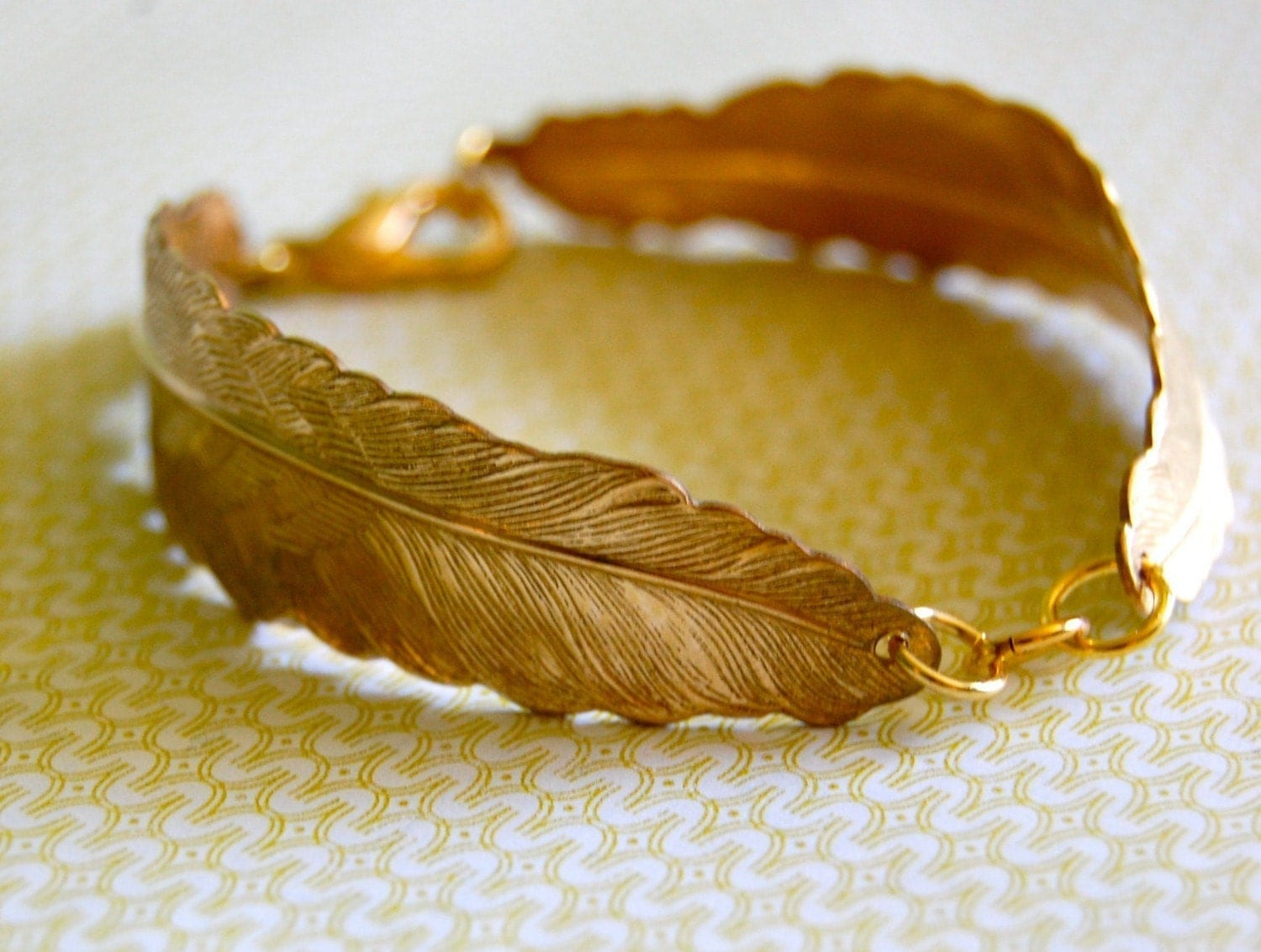 The Vintage Feather Bracelet