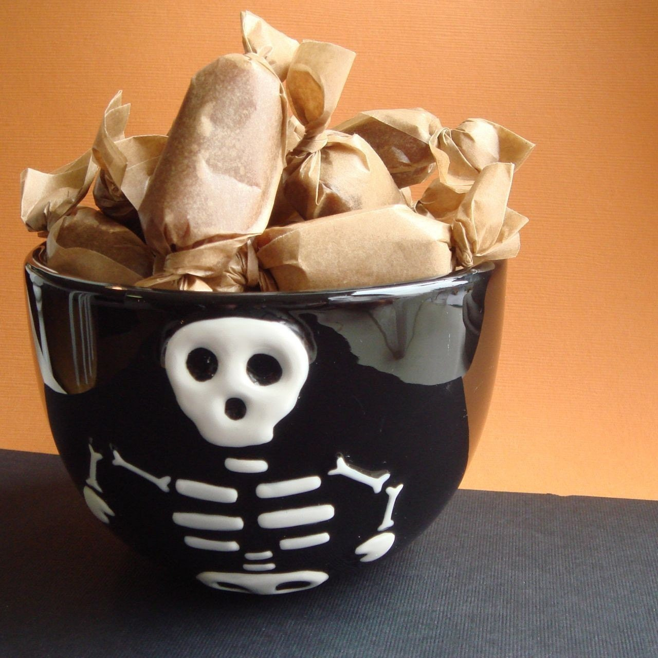 The Caramel Halloween Candy Bowl Filler - Small
