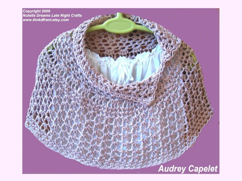 Crochet Pattern Central - Free Pattern - Beauty in Bloom Poncho