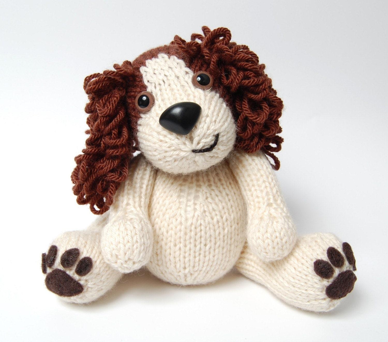PDF - Knitting Pattern for Daniel the Spaniel