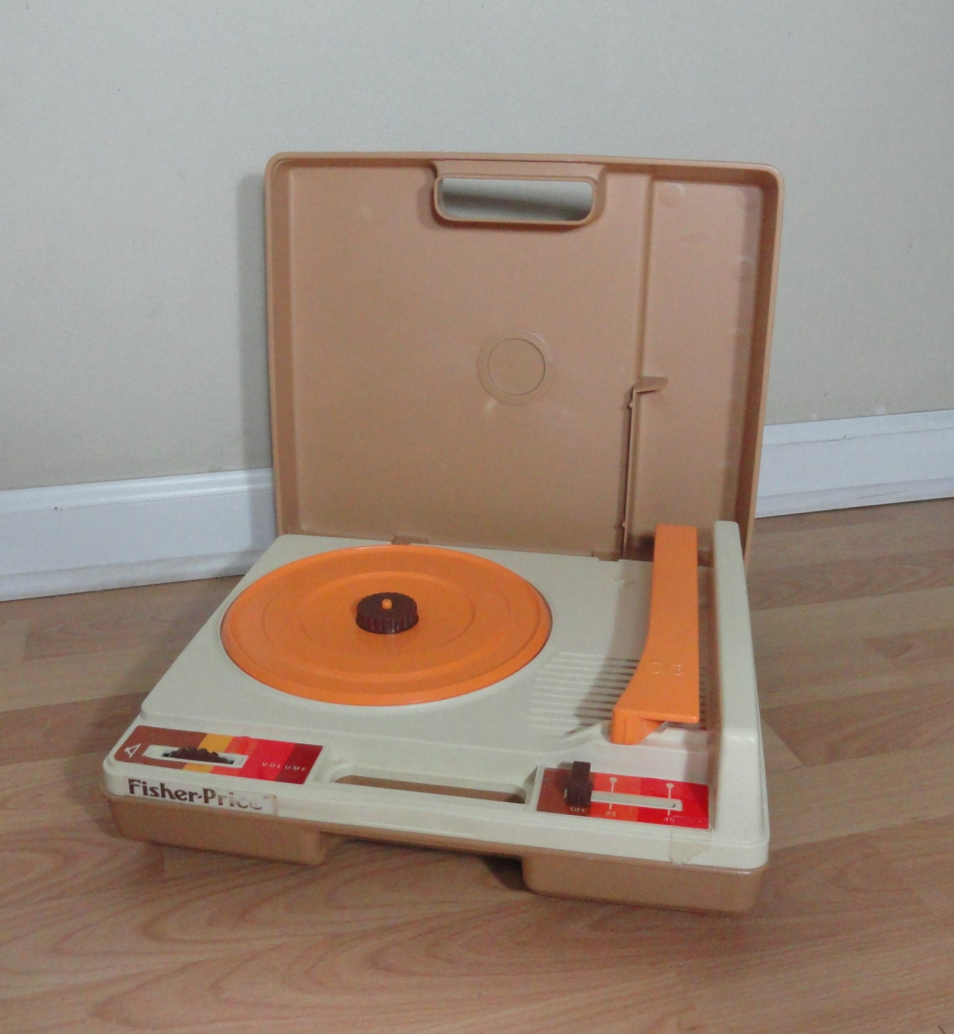 Fisher Price Record Player . Retro Child's Record Player
