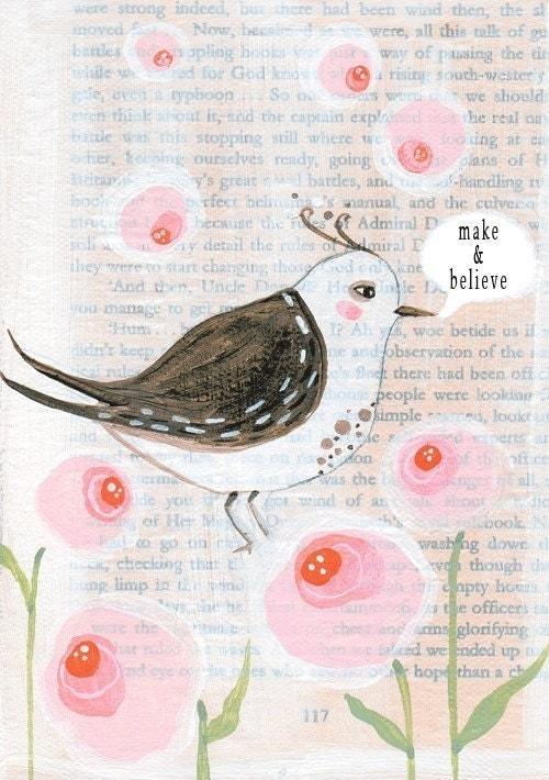 Маленькая мудрая птица