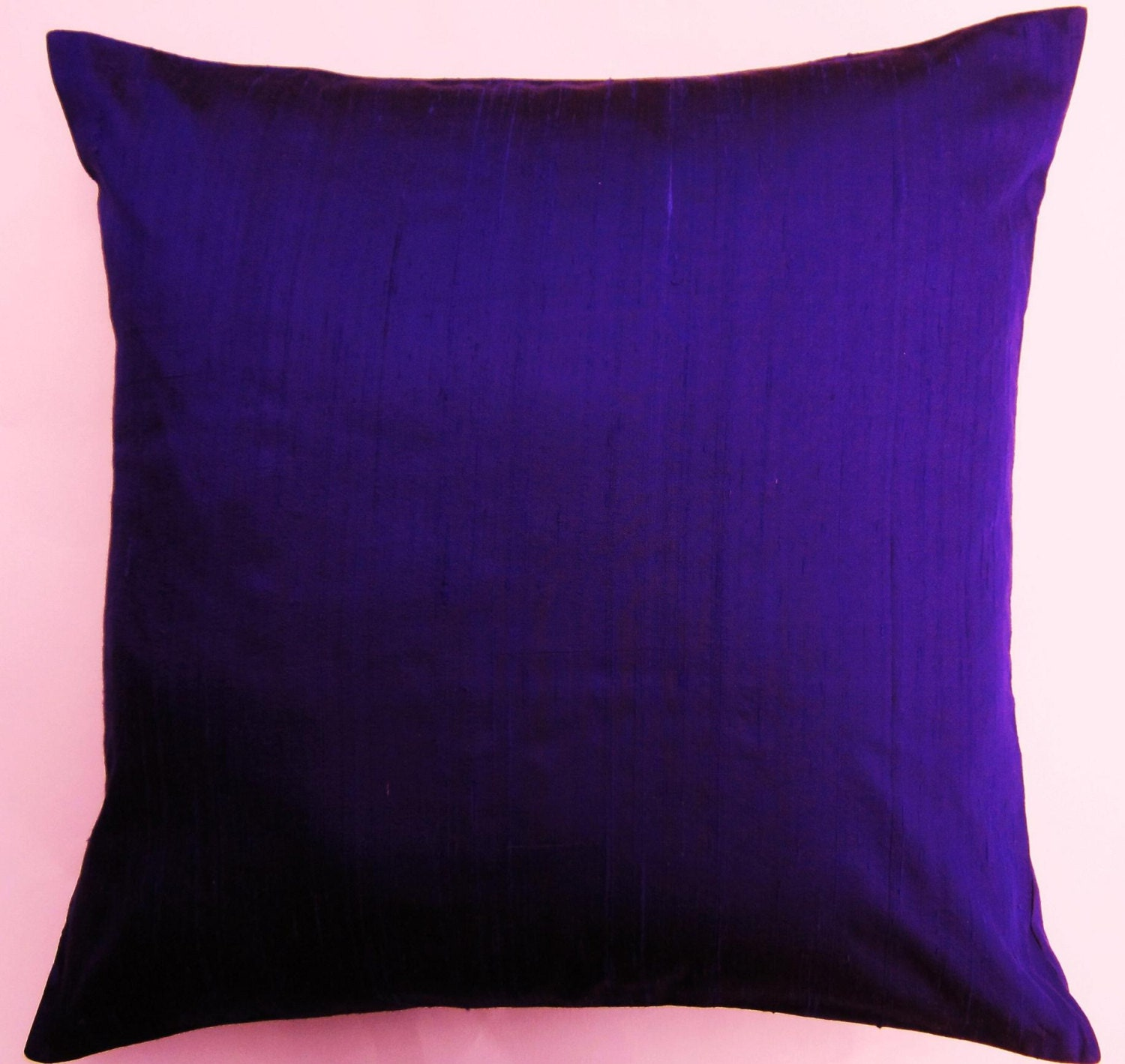 Purple Pillow Cover Ultraviolet Purple Silk By Sassypillows