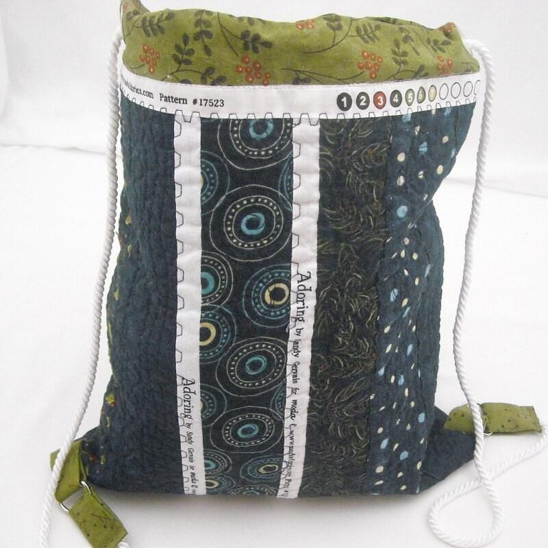 Karen Selvage Quilted Patchwork Bag