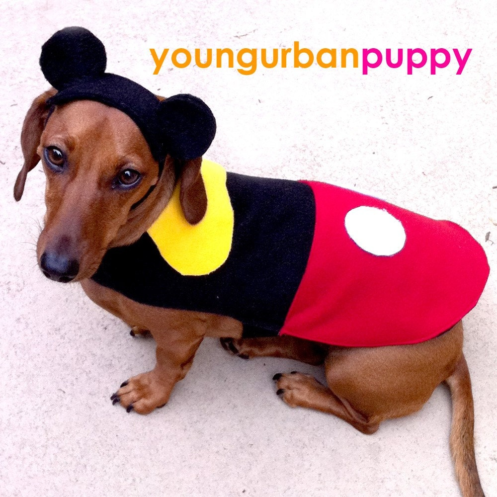 MICKY MOUSE Disney Costume for Dogs