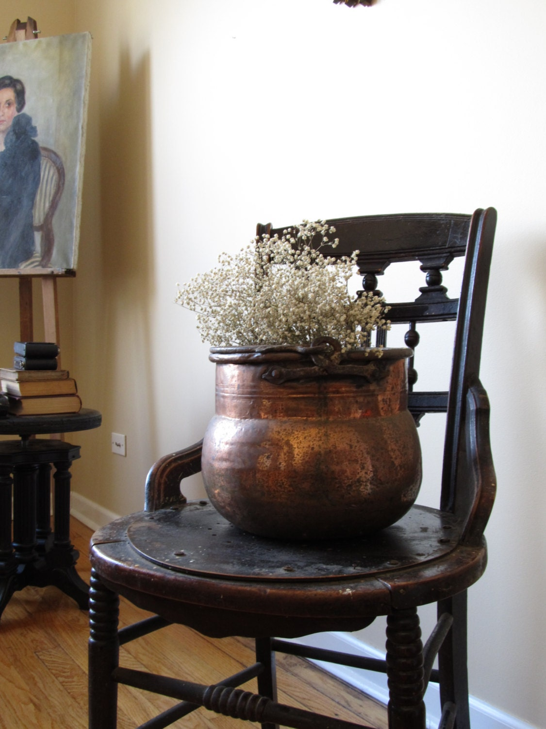SALE - Vintage copper planter. - justynamrugala