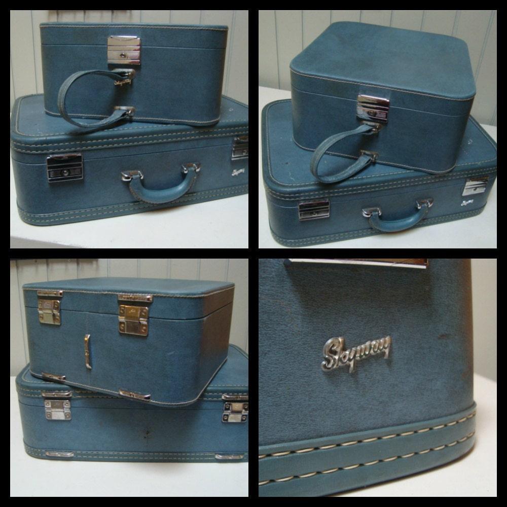 Vintage Skyway Luggage By Retroaz On Etsy