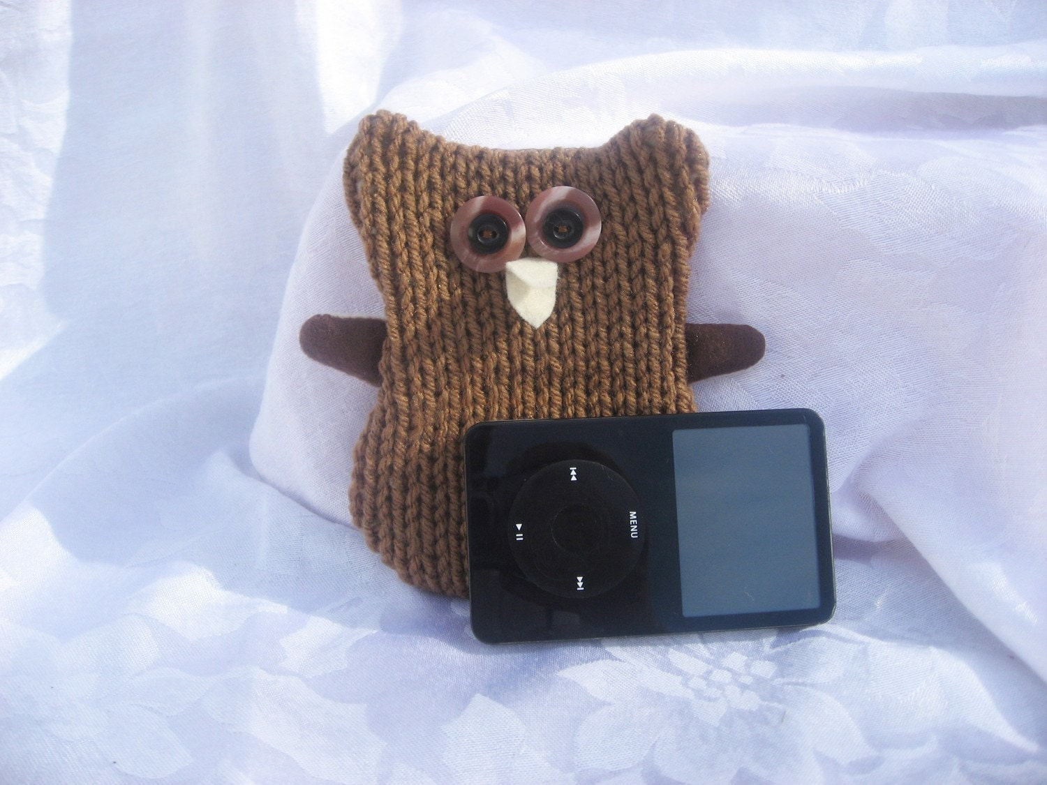 Owl iPod-MP3-cell phone cozy