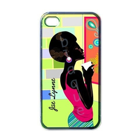 Artsy Sistah Personalized IPhone 4 / 4s Case/Cover