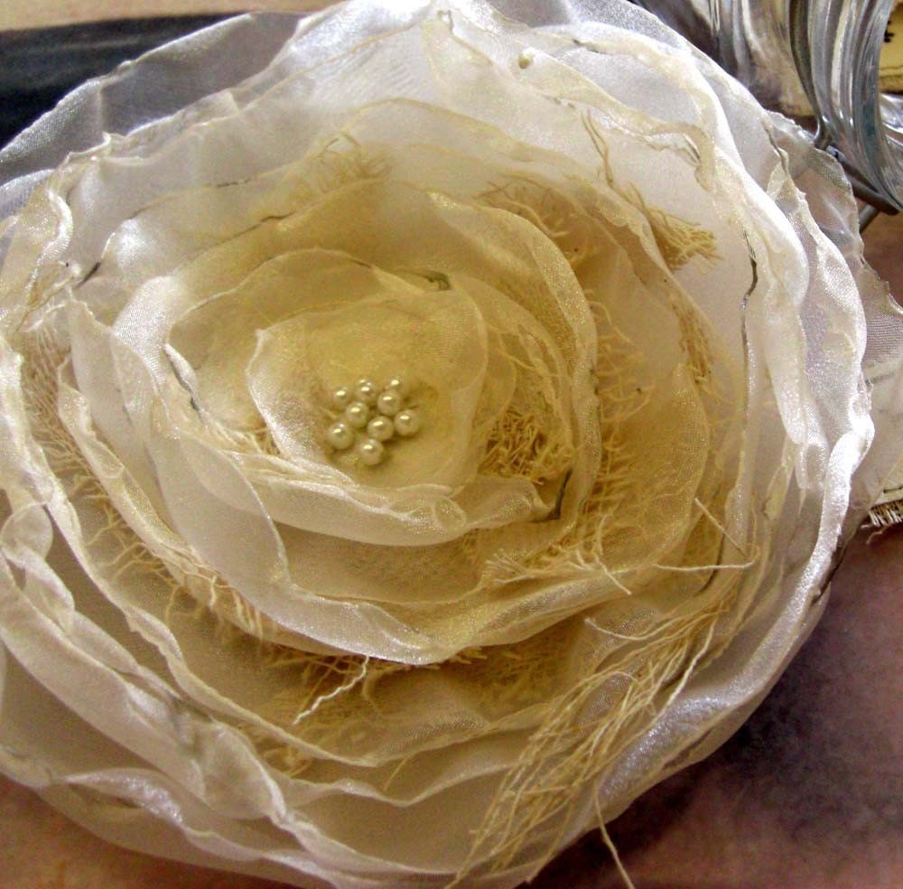 A Haunted Bloom Corsage Large