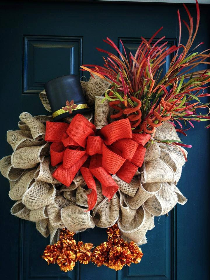 Outdoor Thanksgiving Decorations Ideas