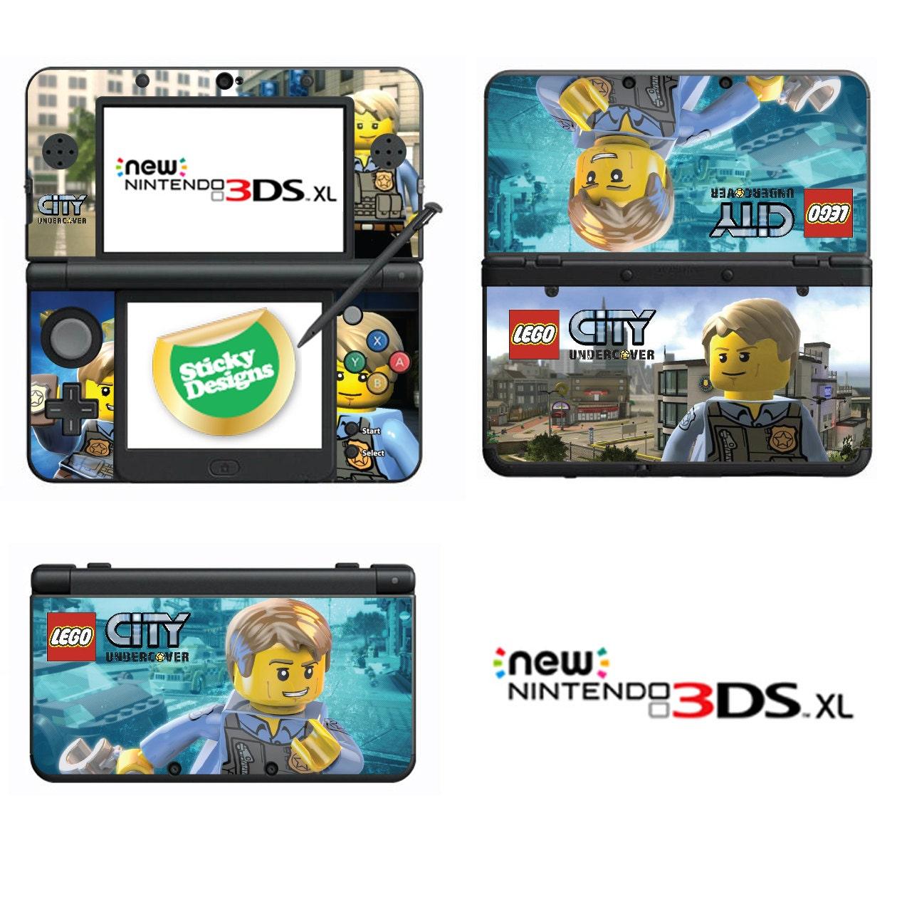 Lego City Undercover Vinyl Skin Sticker for Nintendo DS liteDSiDSi xl3DS3DS xlNew 3DS cstickNew 3DS xl cstick2DS