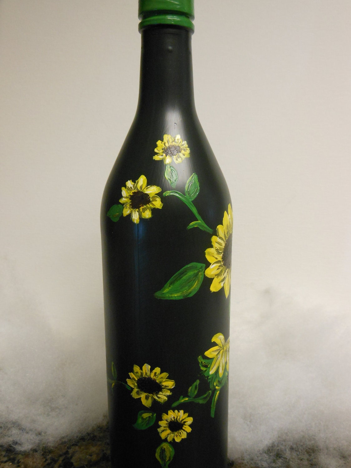 Pin wine bottles oil painting tidebuycom on pinterest for Painting of a wine bottle
