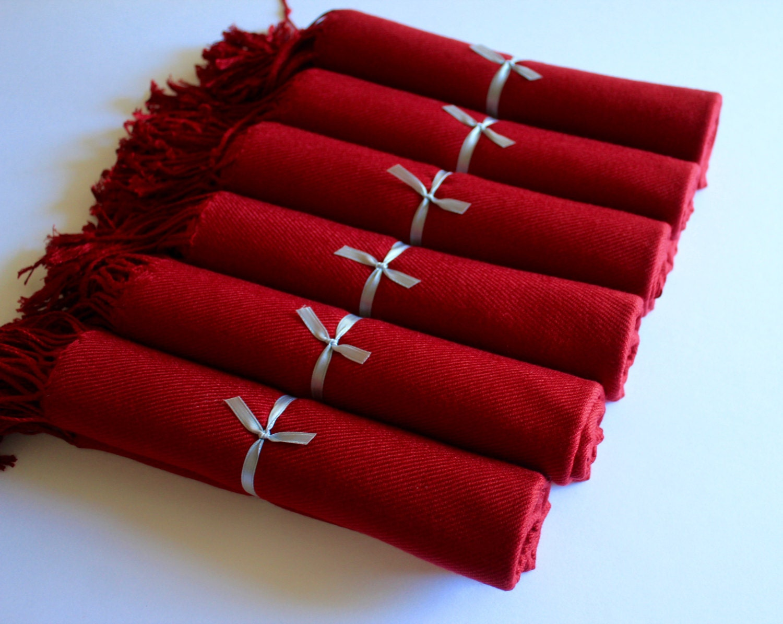 Burgundy shawl  Etsy