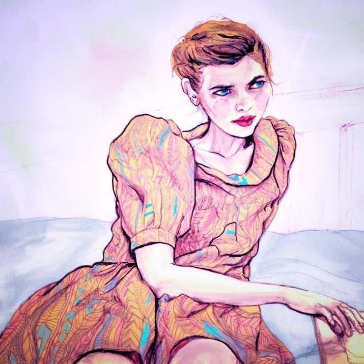 Rachel Antonoff Spring 2011 8inx11in Art Print