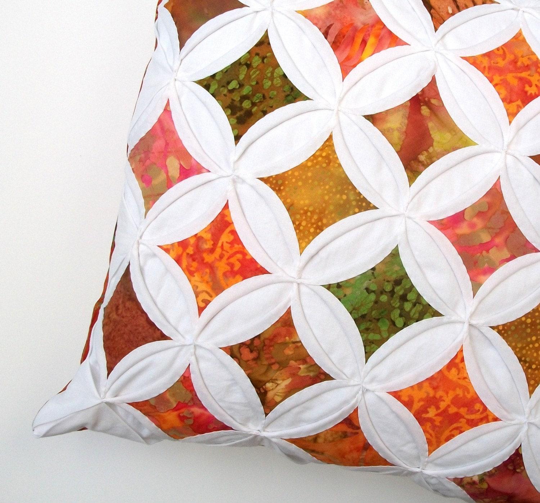 طبیعت فروش فوق العاده است رنگ پاییز طراحی روی پارچه بالش پنجره کلیسای جامع جلد -- 18 اینچ