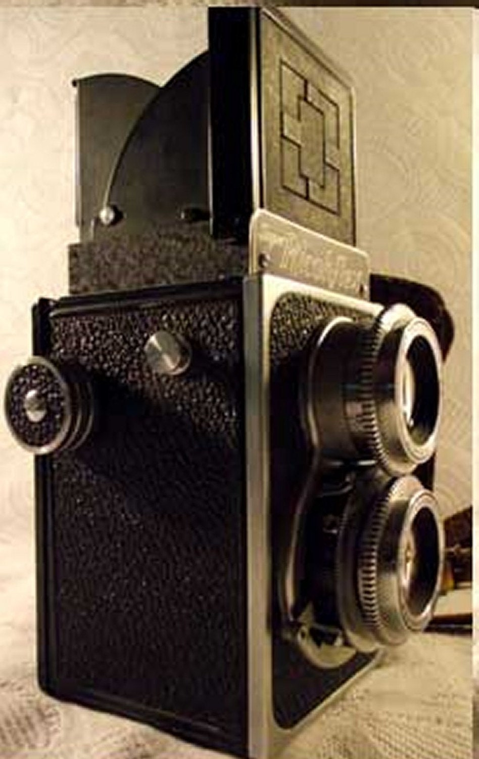 Super Ricohflex Vintage Film Camera