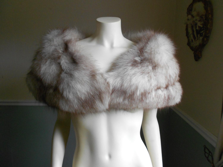 Fox fur stole vintage fox stole by tootiescloset on etsy - Stoel fur ...