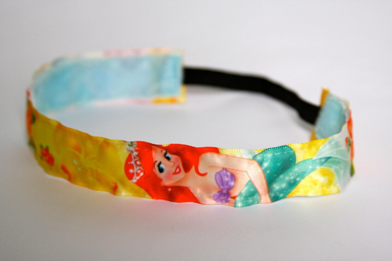 Disney Princess Ariel Non Slip Headband 1 inch