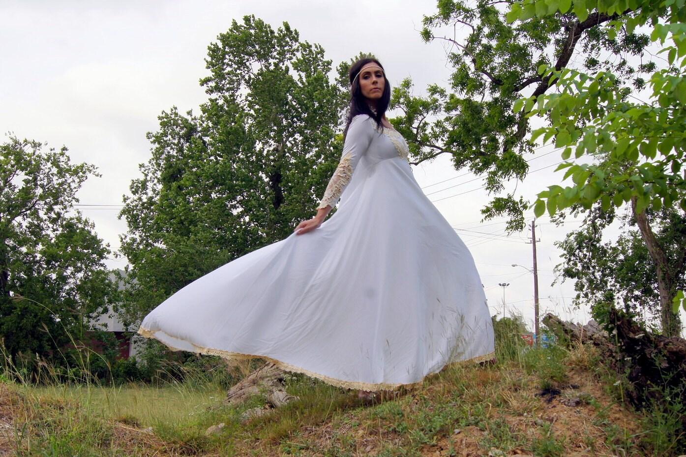 Vintage 70's Wedding Dress