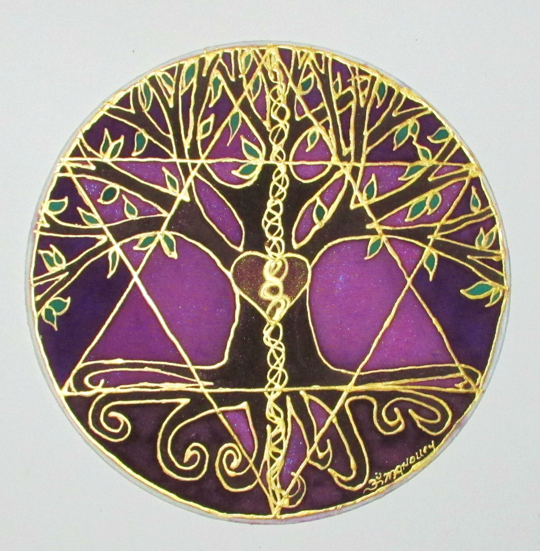Mandala art Tree of Balance Made to Order by ...