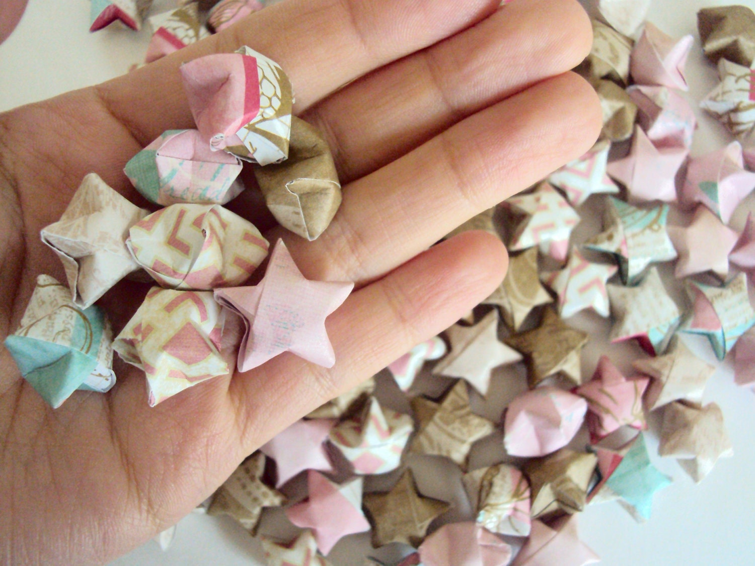 100 Colors of the Wind Origami Stars. Pocahontas