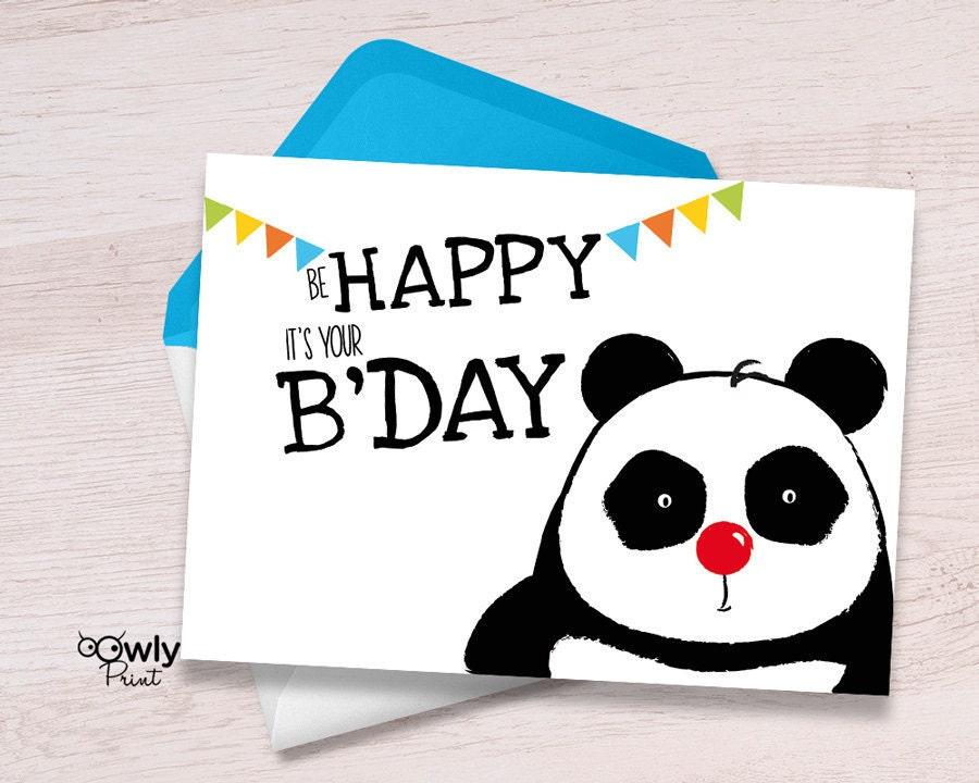 Red panda birthday