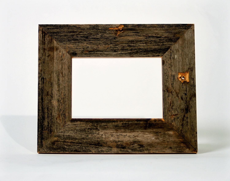 5x7 wood frame salvaged wood southern brown by restorationharbor. Black Bedroom Furniture Sets. Home Design Ideas