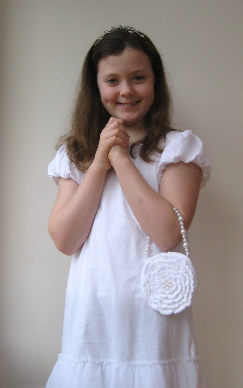 Popular items for girl communion on Etsy