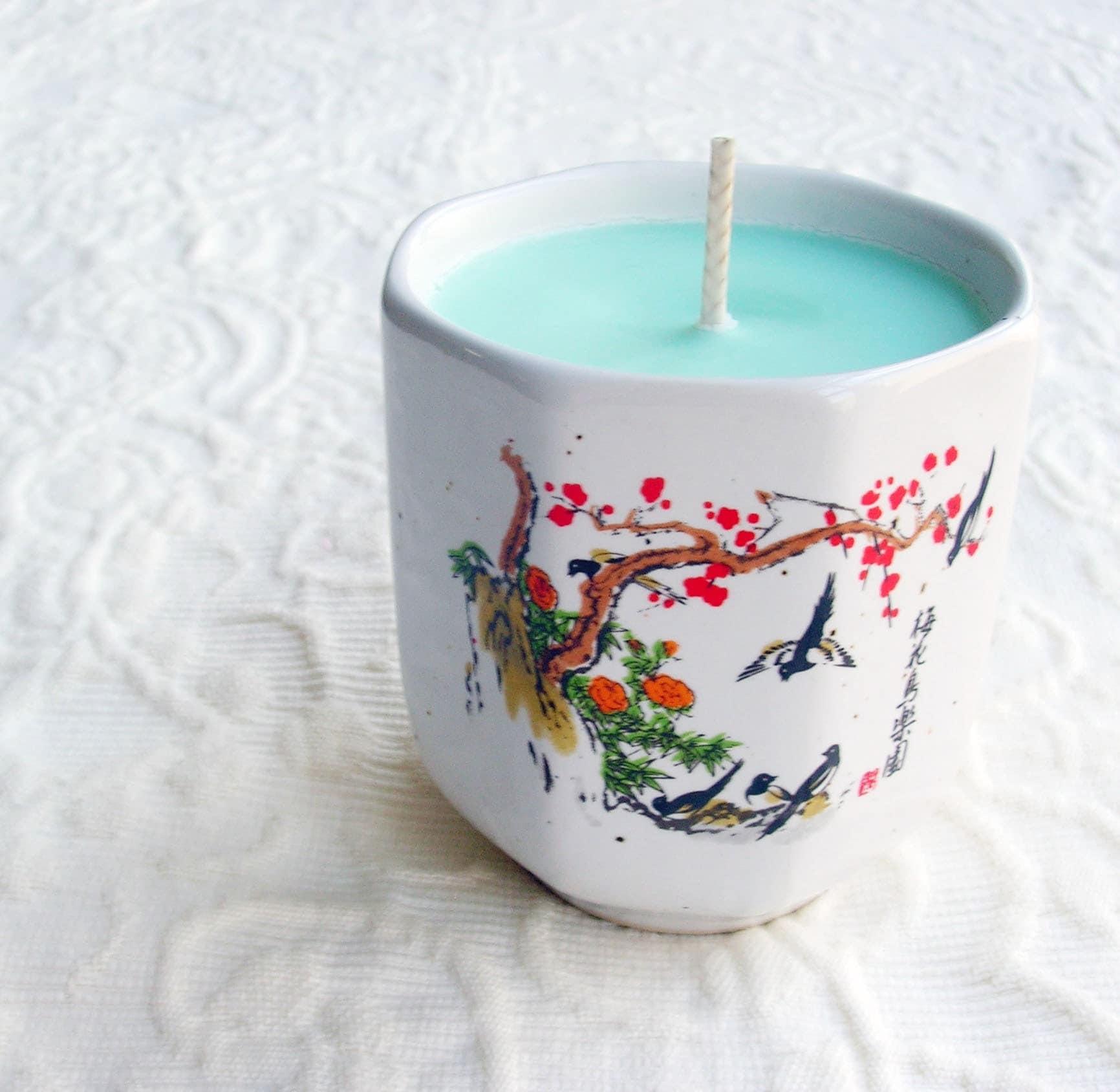 Urban Garden Asian Soy Teacup Candle
