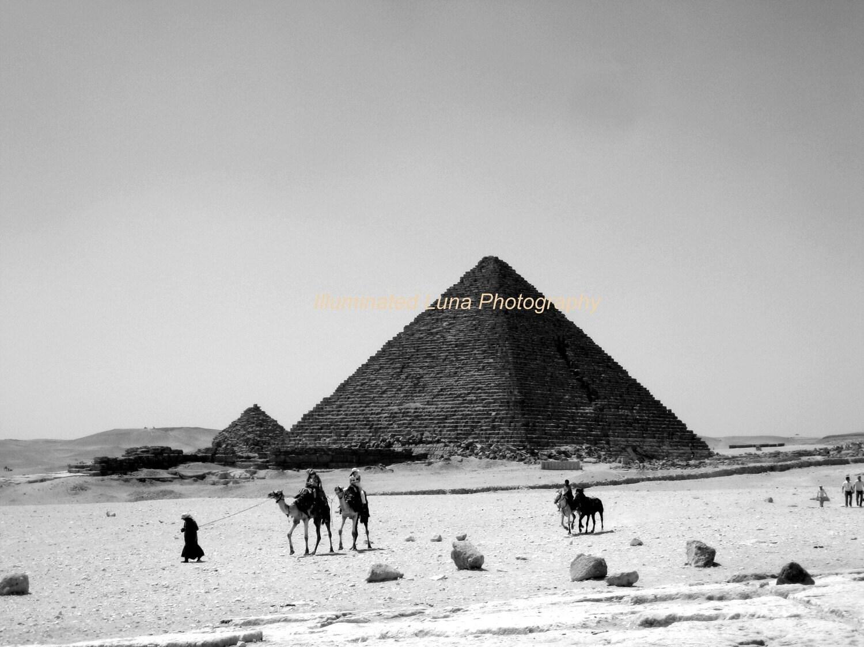 Journey through the Desert, 12 x 16 Fine Art Photograph on Canvas